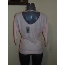 Sweaters Express T-m Rosa Con Estoperol Nueva Orig. Bebe