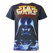 Playera De Star Wars 3d Darth Vader Y Kylo Ren The Force A.