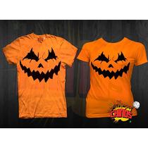 Playera Para Parejas, Dia De Muertos, Halloween 2 X $ 186