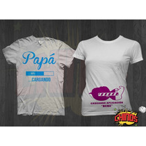 Playeras Para Baby Shower, Divertidas, Embarazada, Papa,