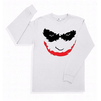 Playera The Joker Guason Manga Larga