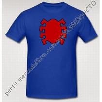 Playera Spiderman Logo Comic Azul Playera Hombre Araña Dyhs