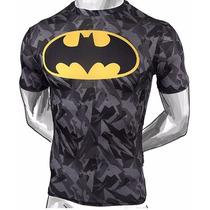 Playeras Super Heroes 3d Batman Camisa Moda Hombre Elegantes