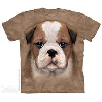 Playera 4d - Unisex -- 3777 Cachorro Bulldog