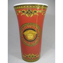 Versace Jarron De Porcelana Rosenthal Oro 24 K Alemana Hm4