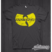 Playera Wu-tang Clan, Raper, Rap, Cholos, Chicano Rap