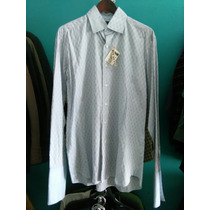 Camisa Ted Baker De Vestir Hombre Talla Mediana De Vestir