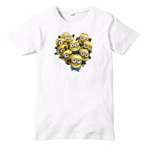 Playera Minions Imprecion Digital