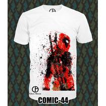 Playeras Deadpool Superman Batman Marvel Y Mas ¡oferta 3x2¡