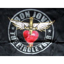 Playera Concierto Bon Jovi Tour The Circle 2010 - 2011