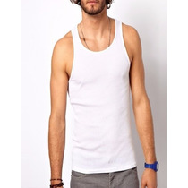 Mayoreo 12 Playeras Lisas Tank Top Precio Total