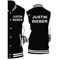 Chamarra Tipo Beisbolista Justin Bieber