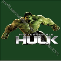 Playera The Incredible Hulk Movie Playeras Avengers Bqlw