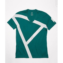 Playera Original Armani Exchange. T Chica Mediana Caballero