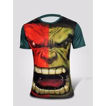 Playera Marvel Hulk El Hombre Increible