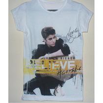 Playeras Justin Bieber Calidad Y Precio Promocion