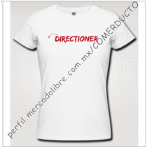 Playera One Direction Playera Directioner 1d Cycv