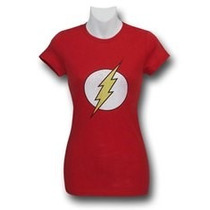 Playera Flash Dc Comics Para Dama Original Importada