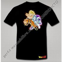 Playera Dragon Ball Playera Goku Vs Freezer Fjde