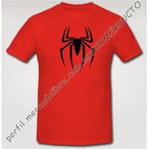 Playera Spider-man Camiseta El Hombre Araña Spiderman Gfuu