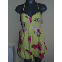 Vestidos Abercrombie & Fitch Xs-s Floral Nuevo Orig. Shorts,