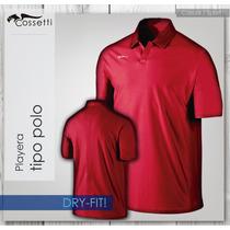 Playera Tipo Polo Dry-fit! De Alta Calidad Nueva Confección!
