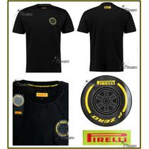 Playera Pirelli Pzero Neumatico Auto F1 Genuina Podium 2015