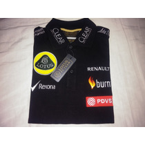 Playera Polo Mujer Lotus F1 Team Oficial Original Formula 1