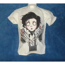 Playera Camiseta Edward Scissorhands Joven Manos De Tijeras