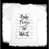 Pink Floyd - The Wall - Camiseta Y Blusa Blanca Electro Rock