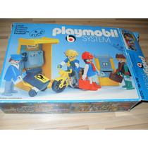 Klicky Playmobil 3231 Cartero Correos Moto Vintage System