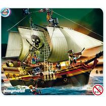 Playmobil 5135 Barco Pirata O Galeon De Ataque Retromex!!
