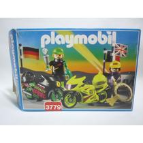 Playmobil Vintage Motocicletas De Carreras Set 3779 En Caja