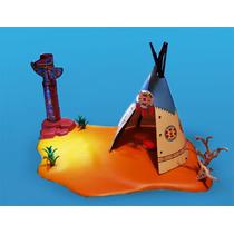 Playmobil Campamento Indio Tepee Apache Oeste Retromex¡¡¡