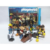 Playmobil Vintage Gambusinos Set 3747 Aurimat D 1987 En Caja