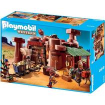 Playmobil 5246 Mina De Oro Del Oeste Indios Retromex