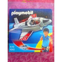 Playmobil Set De Avion Jet Portable