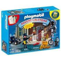 Playmobil Adviento Policía Calendario Con Frescos Sorpresas