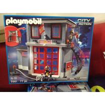 Playmobil 5981 Estacion De Bomberos Fire Rescue Station