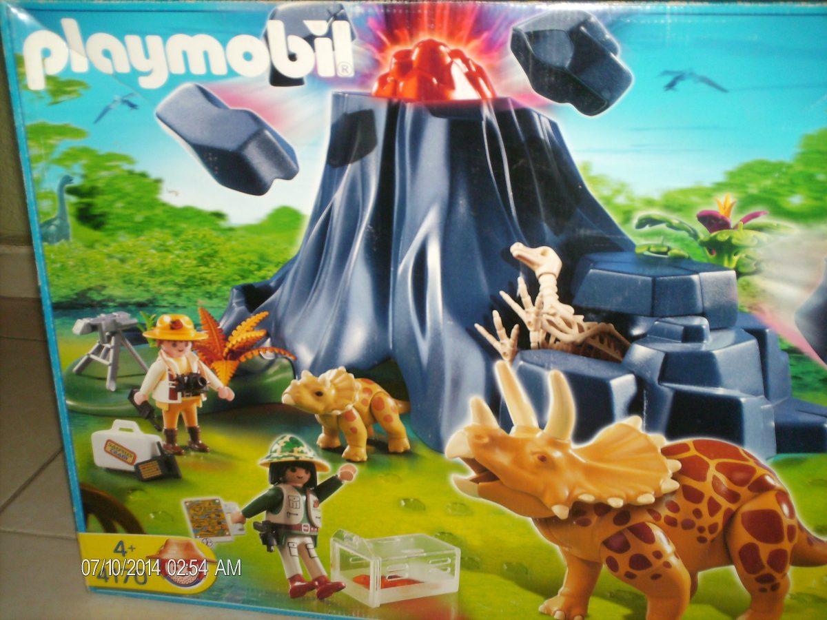 Playmobil isla de dinosaurios completamente nuevo for Playmobil dinosaurios