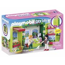 Playmobil City Life Floreria Y Macetas Ciudad Modelo 4726