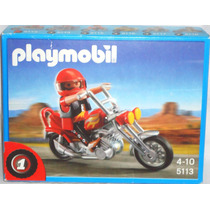 Juguetibox: Playmobil 5113 Chopper Bike No. 1