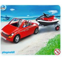 Playmobil 5133 Puerto(auto, Y Remolque Moto Acuatica )!! Idd