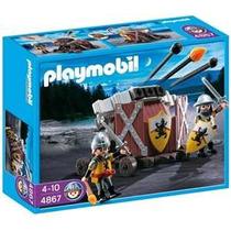 Playmobil 4867 ( Ballesta Triple Caballeros Leon )!!!! Eex