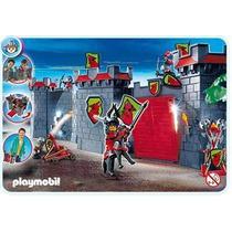 Playmobil 4440 Caballeros(maletin) Cd Y Dvd Obsequio!!bfn