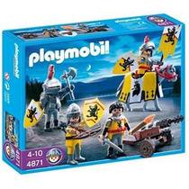 Playmobil 4871 ( Tropa De Los Caballeros Leon )!!!! Gzt