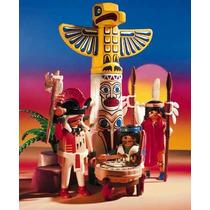 Playmobil, Guerreros Con Totem 3873, Descontinuado