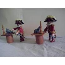 Playmobil Capitan Pirata Con Mesa De Barril Juguetisur!