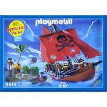 Playmobil, Set De Aventura Pirata 3133/3619, Descontinuado