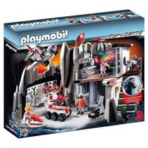 Playmobil 4875 Cuartel General De Espías (caja Maltratada)